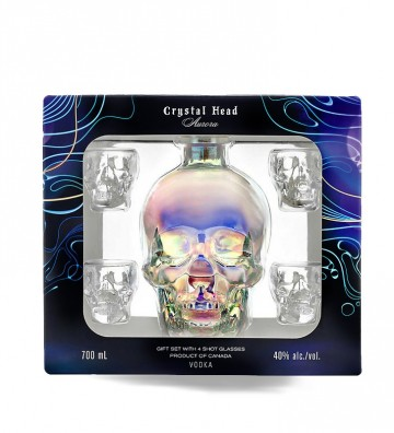 COFFRET CRYSTAL HEAD AURORA...